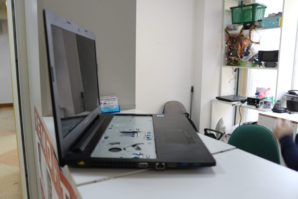 Ремонт ноутбуков различных брендов