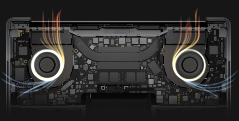 Чистка системы охлаждения ноутбука
