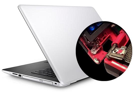 Восстановление корпуса и петель ноутбука